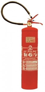 Extintor de pó quimico ABC