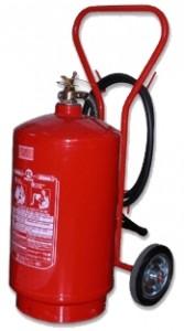 Extintor de pó quimico BC 2